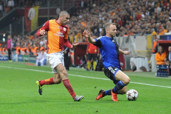 En el Grupo B, el Galatasaray hizo valer su localía en el 'infiero turco'.
