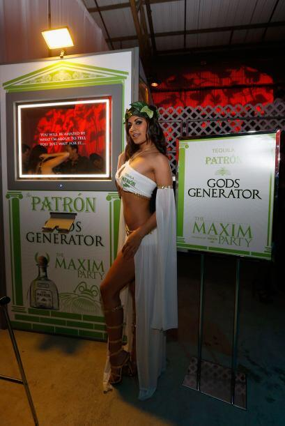 Modelos, personalidades, estrellas y jugadores en la celebración más sex...