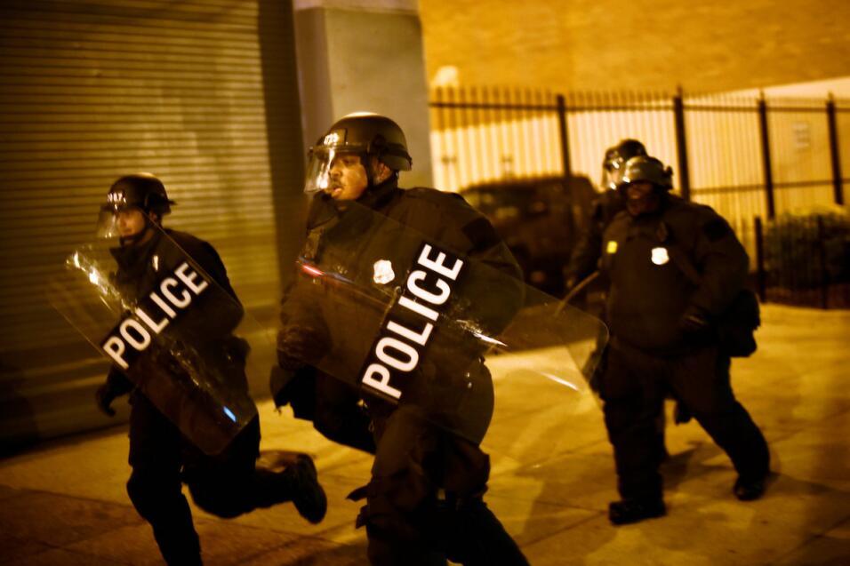 Acción policial tras la búsqueda de manifestantes en Washington D.C.