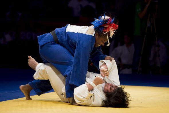 La competencia por equipos de judo fue dominada por Cuba, que se colgó e...