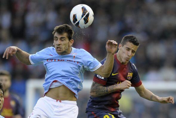 El BArcelona, sin varios de sus titulares, visitó al Celta de Vigo y sac...