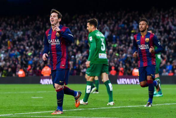 Messi pondría el segundo en el marcador al minuto 38 de tiempo corrido c...