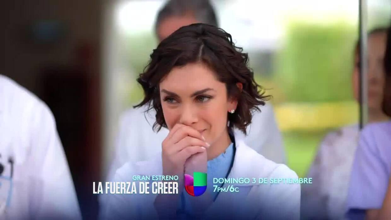 Resultado de imagen para La serie 'La Fuerza De Creer' se estrena en Univision