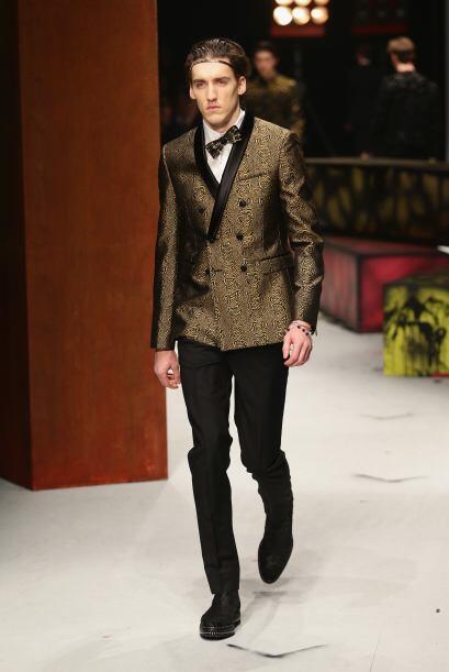 La colección de Roberto Cavalli fue de las que más gustó por su eleganci...