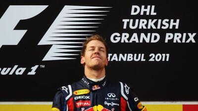 Vettel fue el último ganador del Gran Premio de Turqía de Fórmula 1.