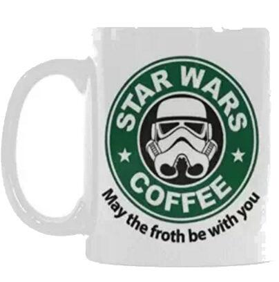 May the 4 with you taza  (amazon)