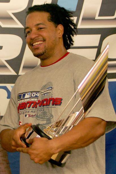 En el Clásico de Otoño de 2004 en el que vencieron a los Cardinals, Mann...