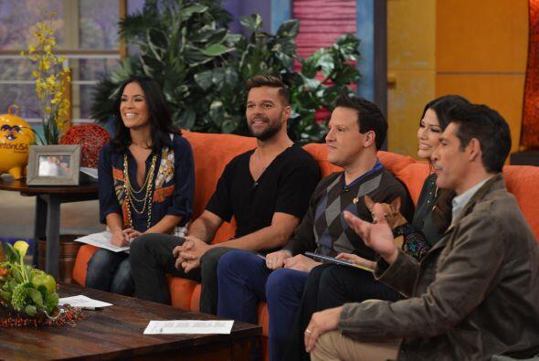 Ricky Martin en Despierta América