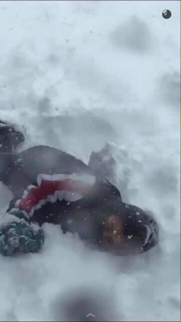 Usuarios comparten fotos de la  primera tormenta invernal de la temporad...