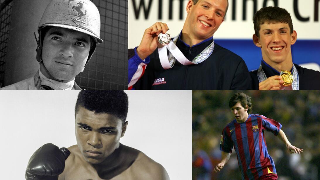 Las 20 estrellas del deporte que brillaron antes de sus 20 años Getty-pr...