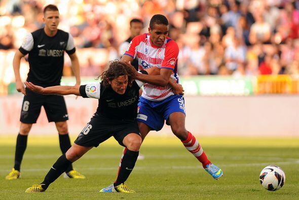 Con el triunfo, Granada se llevó tres puntos de oro en la lucha p...