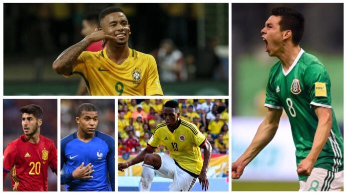 Mbappé, 'Chucky' Lozano y otros jóvenes cracks para disfrutar en la Copa...