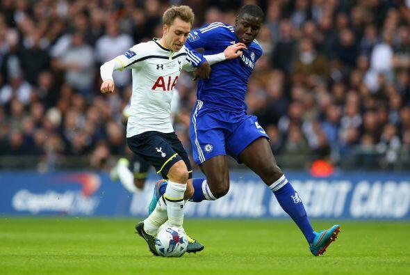 La resistencia del cuadro de Tottenham duraría casi todo el primer tiempo.