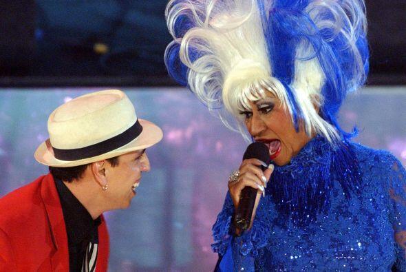 4. La legendaria Celia Cruz realizó una de sus últimas pre...