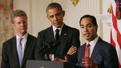 Obama nominó oficialmente a Julián Castro para que se una a su gabinete