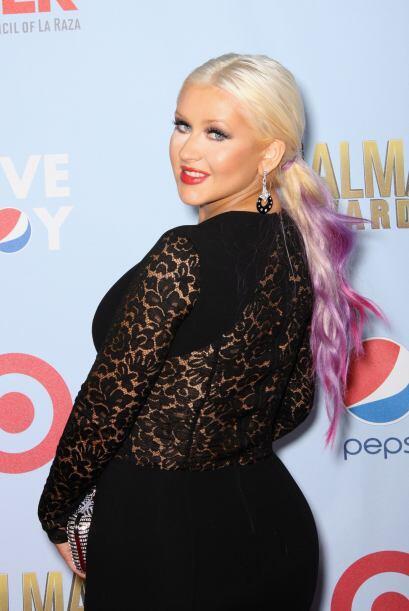 Para Christina Aguilera tampoco ha sido sencillo recuperarse tras su emb...