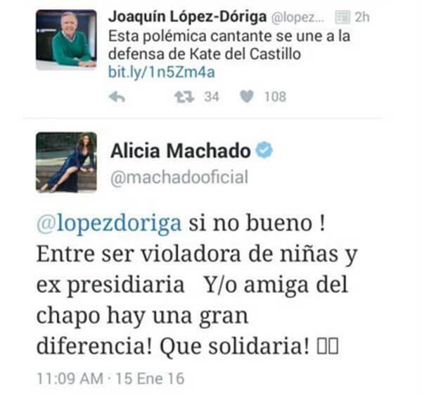 Aquí el mensaje de Alicia.