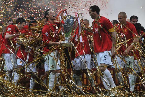 Este fue el último título de la Champions League del Manchester United,...