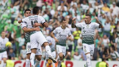 En fotos: Santos es semifinalista tras vencer 2-0 a Tigres en vuelta de cuartos de final