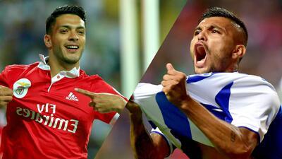 ¡De infarto! El duelo de mexicanos en el Benfica vs. Porto podría definir el título de liga