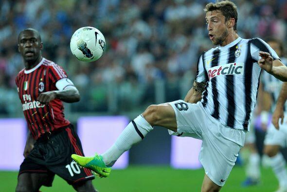 Claudio Marchisio sería fundamental para el andar del juego.