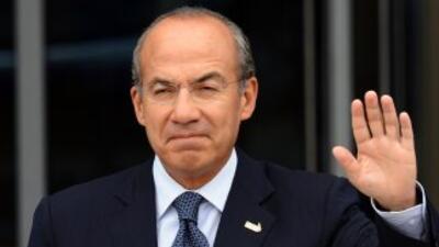 El presidente de México, Felipe Calderón.