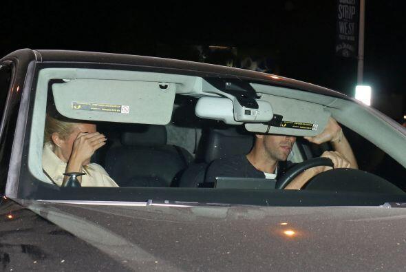 La pareja fue captada en Los Ángeles en una cena para dos en un exclusiv...
