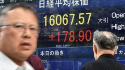 Las acciones de Sony cayeron en la Bolsa de Tokio.
