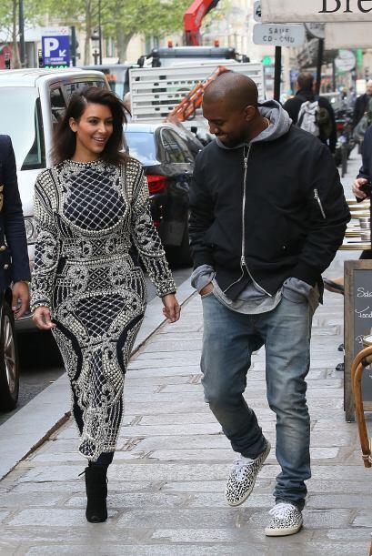 Ni Kanye soportó las ganas de burlarse. Mira aquí más videos de Chismes.
