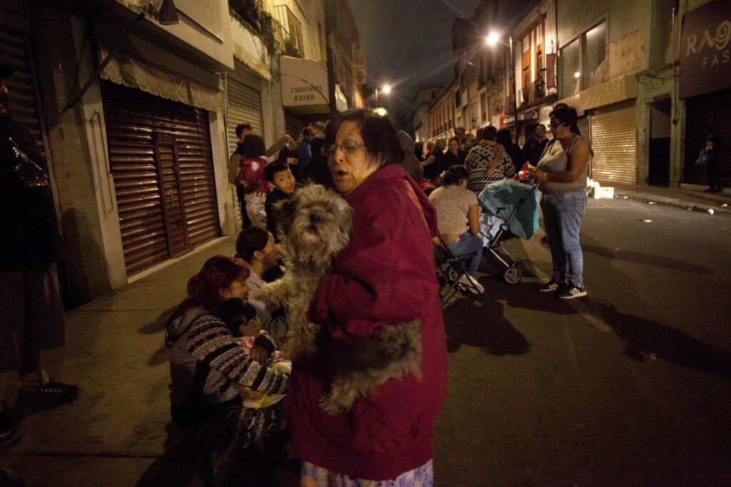 Terremoto en el sur de México de magnitud 8.2