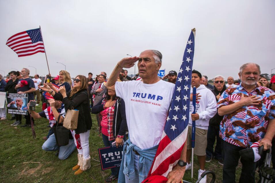 Donald Trump en California