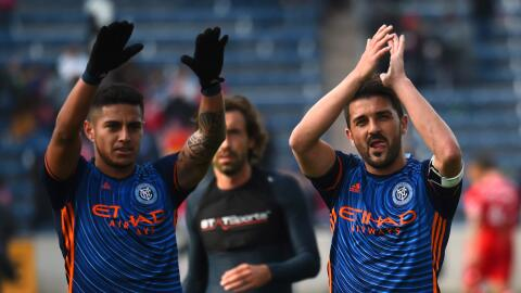 New York FC David Villa