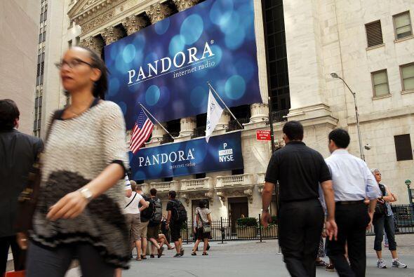 En el periodo de febrero, marzo y abril Pandora reportó ingresos de $51...
