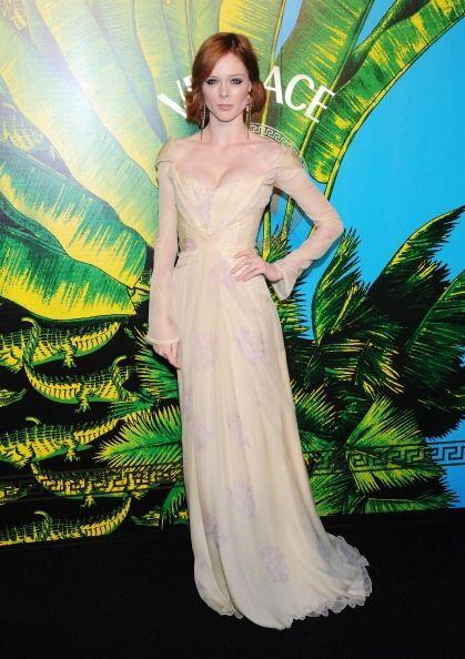 Entre las creaciones de Zac Posen se encuentra este encantador vestido c...