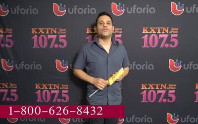 Tejano artist Javier Galvan stops by KXTN in support of St. Jude Radiothon