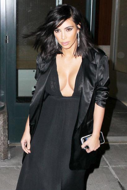 """Kim no sólo quiere ser reconocida por su famosa """"retaguardia""""."""