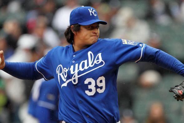 SP. Luis Mendoza. Reales de Kansas City. El mexicano abrió sus dos prime...