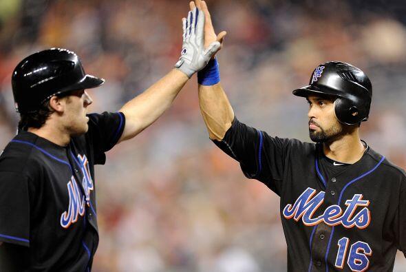 CF. Ángel Pagán. Mets de Nueva York. En la temporada, ha b...