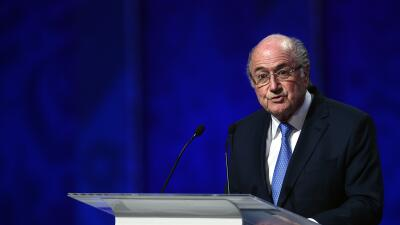 Blatter:''No hay corrupción en el fútbol''