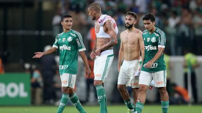 Palmeiras 4-0 River Plate: Palmeiras golea a River Plate pero se despide de Libertadores