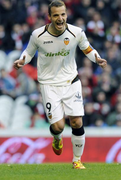 Siguiendo con arietes casados con el gol, tenemos a Roberto Soldado del...