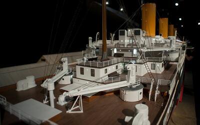 El hundimiento del Titanic duró 2 horas 40 minutos aproximadamente