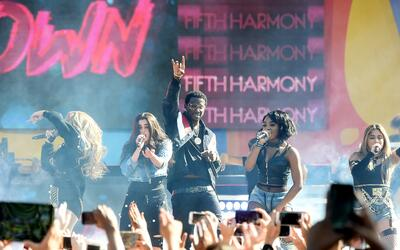 NEW YORK, NY - JUNE 02: Gucci Mane and Fifth Harmony perform on ABC's 'G...