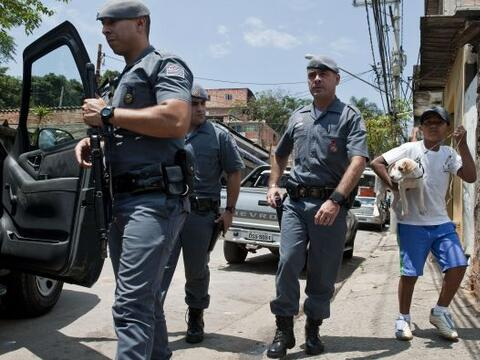 La policía brasileña lanzó una gran operació...