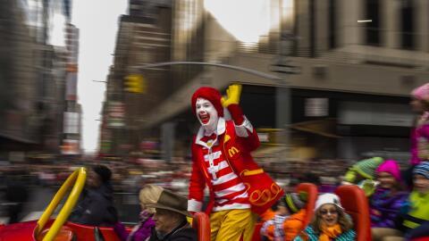 Ronald McDonald es la imagen de la popular cadena de comida rápid...