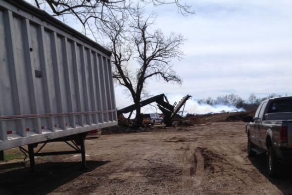 Incendio de maleza en Richmond
