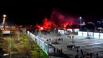 Enfrentamiento entre ultras del Lyon y CSKA deja policías heridos y tres fanáticos detenidos