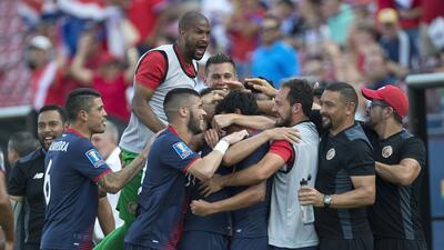 Costa Rica llega caminando a los Cuartos de Final tras golear a Guayana