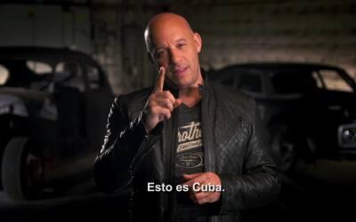 'The Fate of the Furious': Detrás de cámaras en Cuba