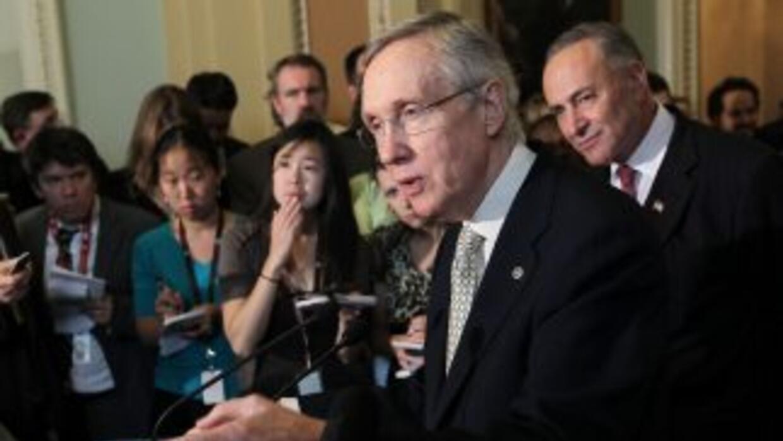 El rechazo al plan republicano por parte del Senado de Estados Unidos, y...